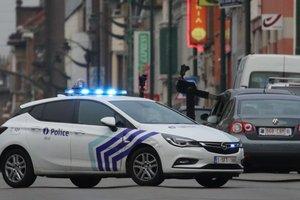 В Брюсселе полицейские открыли огонь по водителю, который заявил о бомбе в своей машине