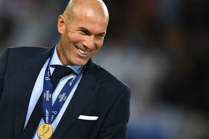 Зидан - второй в истории тренер, который выиграл два раза подряд Суперкубок УЕФА