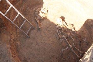 Под Днепром археологи нашли скифскую амазонку, погибшую в бою