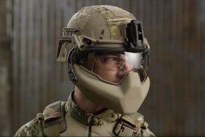 Армия США тестирует новый боевой шлем для пехотинцев (видео)
