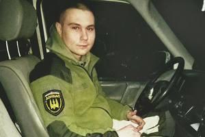 Во Львовской области на коленях встречали убитого в АТО 21-летнего бойца