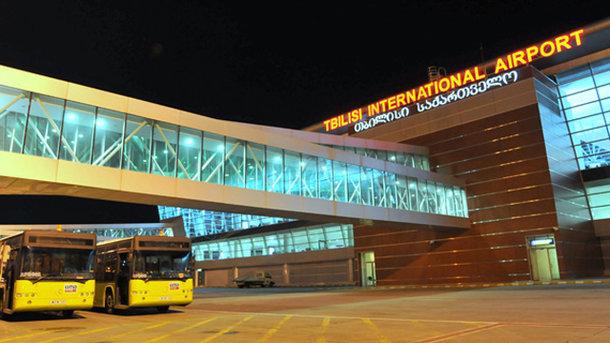 Сбой программы нарушил работу Тбилисского аэропорта