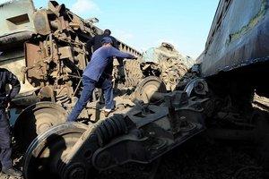 В Египте назвали причину столкновения двух поездов