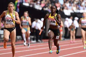 Украинки не пробились в финал в эстафете 4х100 метров на ЧМ в Лондоне