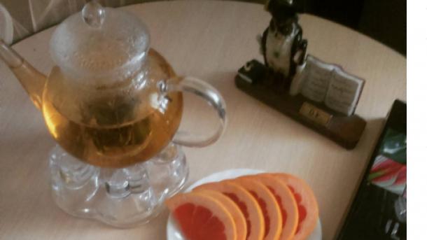 Зеленый чай. Фото: instagram.com/n.barysheva