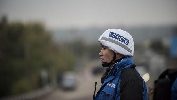 ОБСЕ на Донбассе. Фото: AFP