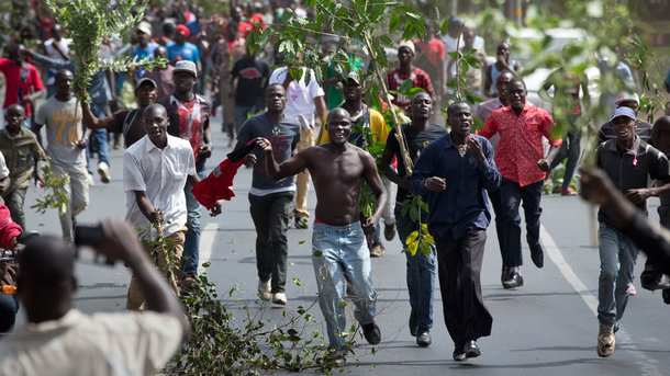 Протесты в Кении. Фото из открытых источников