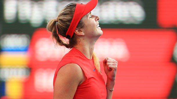 Элина Свитолина разгромила вторую ракетку мира в вышла в финал турнира