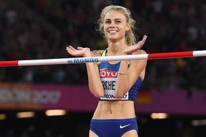 Рекордный прыжок украинской красавицы Юлии Левченко