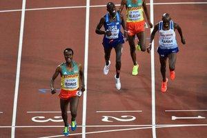 Четырехкратный олимпийский чемпион Мо Фара остался без золотой медали на коронной дистанции