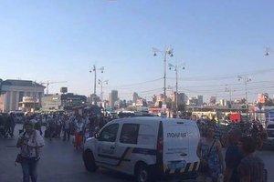 В Киеве с ж/д вокзала эвакуировали более 1200 человек
