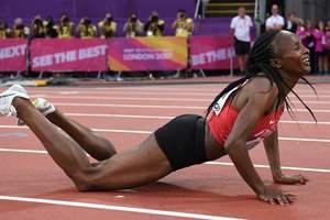 Кенийка Обири стала чемпионкой мира в беге на 5000 метров