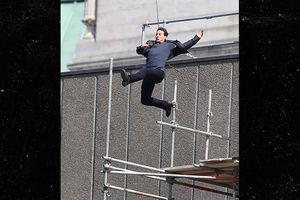 "Том Круз пострадал при выполнении трюка на съемках ""Миссия невыполнима 6"" (видео)"