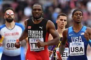 Последнюю медаль чемпионата мира по легкой атлетике выиграла команда Тринидада и Тобаго