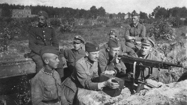 Польские войска, август-1920. Фото: Wikipedia