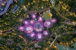 """""""Это просто космос"""": фотограф опубликовал снимки Сингапура с высоты"""