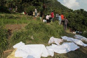 При сходе оползня в Сьерра-Леоне погибли 310 человек
