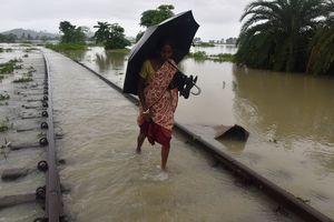 Число жертв наводнений в Индии перевалило за сотню