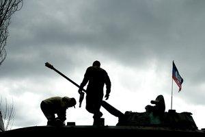 Боевики сожгли дома мирных жителей на Донбассе
