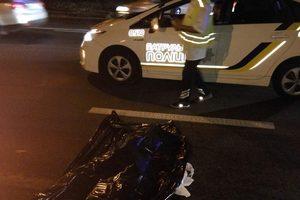 В Киеве в ночном ДТП погиб пешеход-нарушитель