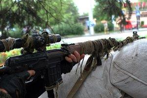 Украинские снайперы нанесли урон боевикам на Донбассе