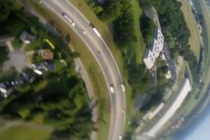 Блогеры сняли на видео падение с самолета