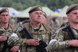 На парад в День Независимости в Киеве выйдут военные 10 стран