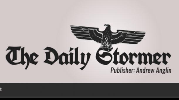 Сайт американских неонацистов The Daily Stormer перебрался вдоменную зону .ru
