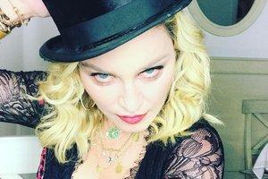 Мадонне - 59: певица устроила горячие танцы и оседлала коня