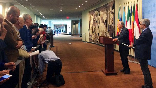 Генеральный секретарь ООН исключил сценарий военного решения конфликта сКНДР