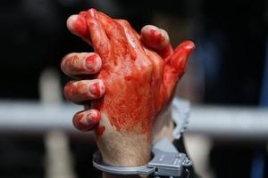Мужчина жестоко убил мать в Запорожской области