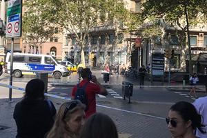 В Испании фургон влетел в толпу людей, есть раненые и погибшие