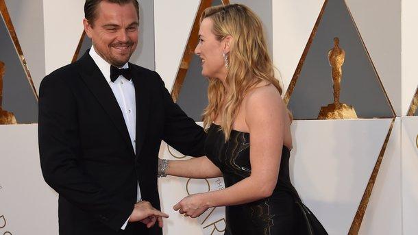 Леонардо Ди Каприо и Кейт Уинслет. Фото: AFP