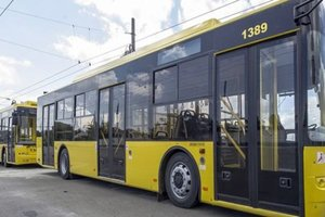 Сегодня наземный транспорт в Киеве будет работать по расписанию рабочего дня