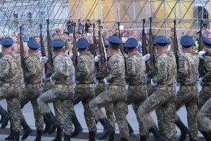 В Киеве прошла вторая репетиция военного парада ко Дню Независимости