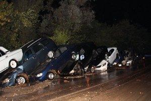 Потоп в Крыму: появились новые фото и видео