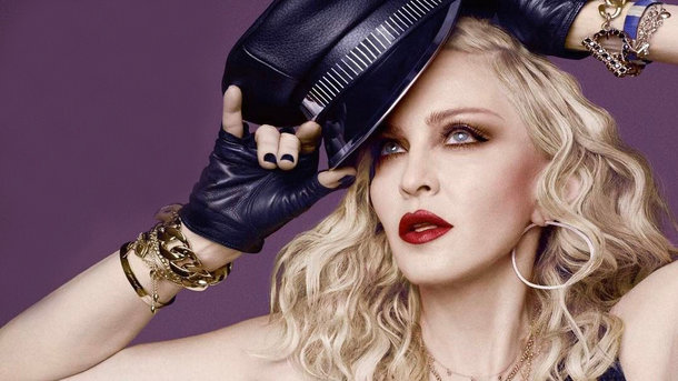 Мадонна впервый раз вышла всвет ссобственными 6 детьми