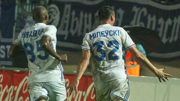 Милевский спас брестское «Динамо»