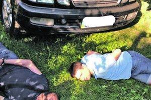 Все подробности задержания банды угонщиков в Киеве