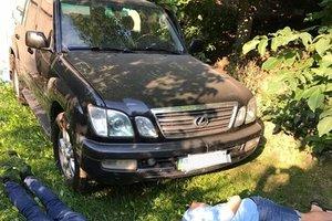 Полиция рассказала подробности задержания угонщиков Lexus замглавы Нацполиции