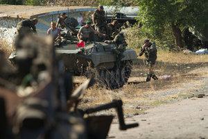 На Донбассе боевики устроили массовую драку