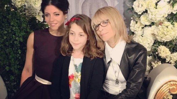 Вера Глаголева с дочерью и внучкой. Фото: Instagram
