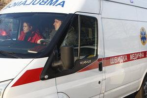 В Киеве в результате ДТП пассажира намертво зажало в машине