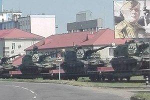 Россия перебрасывает в Беларусь военную технику: появились фото