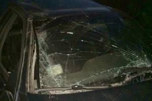 Под Киевом парень угнал авто и попал в серьезное ДТП