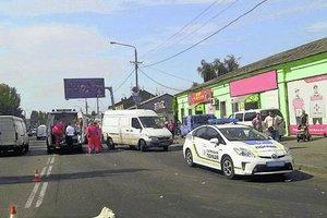 Жуткое ДТП в Одессе: авто отбросило на женщин с детьми на тротуаре