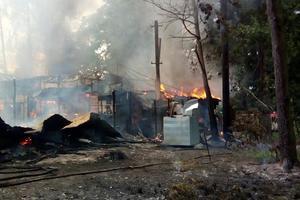 Подробности крупного пожара в Киеве: ресторан тушат 85 спасателей