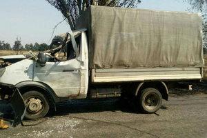 На Донбассе дерево раздавило авто с людьми