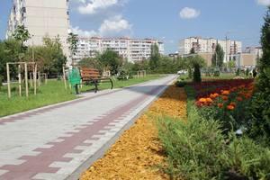 В Киеве на Троещине появился новый сквер