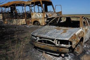 Самые горячие точки Донбасса 22 августа: интерактивная карта АТО